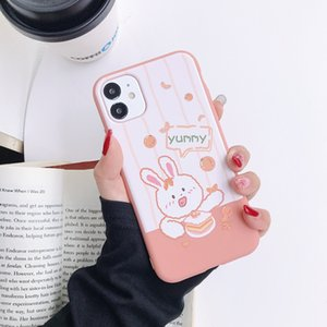 The new cartoon mobile phone case is suitable for iP X8 plus 11pro12 creative Mate protective cover