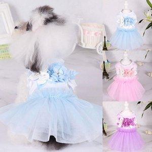 Nueva princesa hermosa vestido de mascota cómodo cupcake lindo durable perrito perro accesorio perro falda colorido