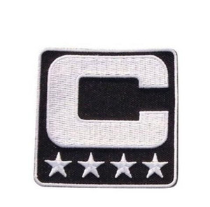 Captain C Patch Wholesale- Iron or Sewing On for Jersey Football, Baseball. Soccer, Hockey, Lacrosse, Basketball