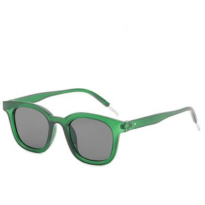Versión coreana Mujer gafas de sol de moda Pequeñas gafas de sol plazas de moda Classic arroz uñas personalizadas Oloey UV400 Oculos