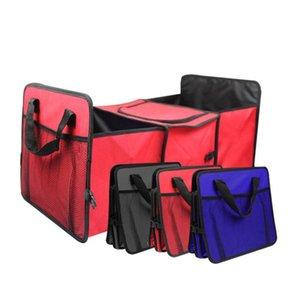 자동차 주최자 트렁크 접을 수있는 장난감 식품 저장 트럭화물 컨테이너 towing 자동 후면 상자 액세서리 정리