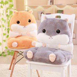 45cm Soft Cute Plush Fat Hamster Cushion Three-in-one Blanket Hand Warmer Baby, Kids & Adult Maternity Cushion