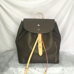 N41578 جديد جودة عالية سبيرون حقائب السفر جلد المرأة حقائب الأزياء الكلاسيكية زهرة حقيبة الظهر الرياضية حقيبة 41578