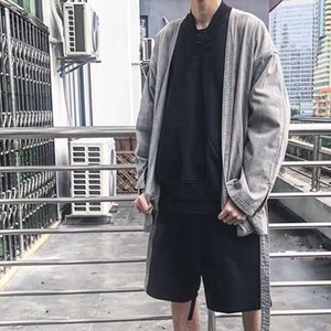 Sashed Clothing Denim Vest Clothing For Men and Women Oversize Solid V-neck jeans Jas Harajuku High Street Losse Casual coat