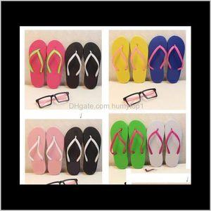 Mix Colors Girls Women Pink Black Flip Flops With Tags Sandals Beach Slippers Shoes Summer Soft Sandalias Beach Slippers 2 Paris Ih8Vt 9Anih