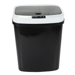 Waste Bins 16L Automatic Trash Can Touchless Smart Infrared Motion Sensor Bin Kitchen Garbage For Home Room