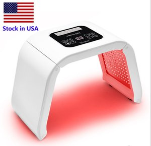 Stock in USA 7 Light LED Facial Mask PDT Light For Skin Therapy Beauty machine Face Skin Rejuvenation salon beauty equipment free shipping