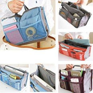 Storage Bags Multi Colors Bag In Insert Handbag Functional Women Cosmetic Travel Makeup Organizer