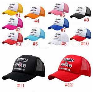 Trump 2024 Baseball Hats US President Election Trump Caps Keep America Great MAGA Mesh Snapbacks Summer Visor Caps Party Hats RRA4174