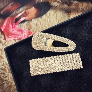 Korean Ins Net Red Letter Hairpin Rhinestone Bb Super Flash Full Diamond Ee Clip Head Banger
