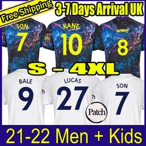 21 22 Tottenham SON soccer jersey DELE KANE CLARKE NDOMBELE REGUILON HOJBJERG BERGWIJN LO CELSO SPURS LUCAS football shirt 2021 2022 men + kids kit uniforms