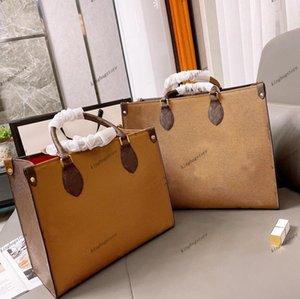 ONTHEGO WOMEN luxurys designers bags fashion Real leather Handbags messenger crossbody shoulder bag Totes purse Wallets Handbag shoulders