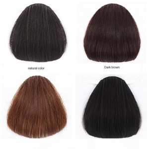100% dritto Bangs Human Natural Hair Bangs Branding frontale Stewalty Stealth Non-traccia Capelli Bang Bang Clip in parrucchiere Parrucchiere Estensione