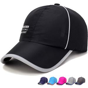2021 Mesh Summer Sun Hat Caps for Men Women Adjustable Baseball Cap Mens Trucker Hats Camo Camouflage Womens Baseball Hat