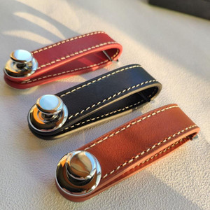 Keychain Storage Bags Leather Compact Key Holder Organizer Key Pocket Chain Case Gifts Leather Keychain