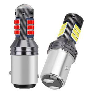 2pcs 새로운 1157 P21 / 5W Bay15D 슈퍼 밝은 LED 자동차 테일 브레이크 전구 회전 신호 자동 후면 안개 램프 주간 주행 빛