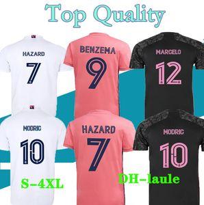 3XL 4XL футбол для футбола Real Madrid 20 21 Benzema Vini Jr Modric Asensio Sergio CamiSeta de Fútbol 2020 2021 футбольная футболка Camisa de futebol