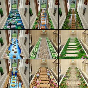 3D Eğlenceli Macera Koridor Mat Yatak Odası Mutfak Kilim Çocuk Odası Dekoratif Oyun Mat Alan Halı Pastoral Halılar Oturma Odası için