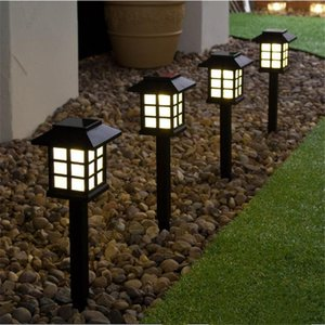 Outdoor Sensor Solar Light Waterproof LED Solar Garden Light Lawn Lamp Landscape Night Lamp Pathway Patio Driveway Yar