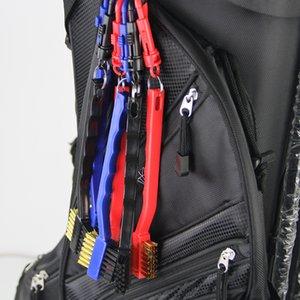 Aide à l'entraînement GOG Golf Club Groove Showner Brosse, Kit de nettoyage et d'affûtage pour Coins et fers Accessoires de golf