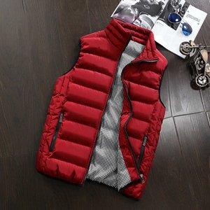 Bingchenxu во время куртки без рукавов жилет с повседневными пальто мужской хлопчатобумажный мужской жилет мужчина утолщение жилета, но куртка во время жилета на открытом воздухе