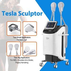 2021 Máquina de emagrecimento de treinamento eletromagnético CE aprovado 4 alças esculpir elétrico EMS estimulador muscular