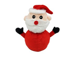 2021Double-sided flipped doll Christmas high quality Santa Claus Rag Doll children's Gifts lovely Christmas plush toys present