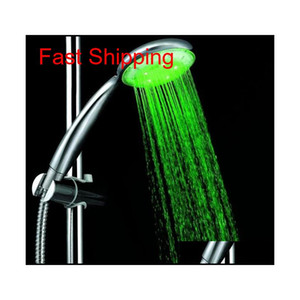 7 Colors Colorful Matic Jump Changing Water Flow Shower Head Bath Faucet Led Handle Water qylLSS homes2011