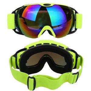 Professional Ski Goggles Double Layers Uv400 Anti-fog Big Ski Mask Glasses Skiing Men Women Winter Snow Snow jllrcj soif