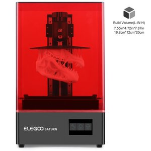 ELEGOO SATURN Mono MSLA 3D Printer UV Photocuring 4K LCD 3D Printer 8.9inch 4K Monochrome LCD Resin 3D Printer 192*120*200mm