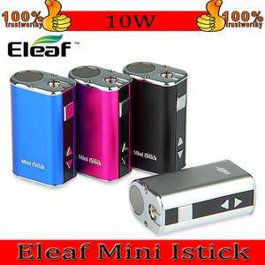Eleaf Mini Istick Kit 1050mAh 내장 배터리 10W 최대 출력 가변 전압 모드 USB 케이블로 4 색 EGO 커넥터 빠른 배송