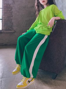 Trousers Kids Fashion Oversize Jogger Pants Summer Baby Soft Elastic Waist Teen Girls Outfit 3-15Y