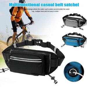 Pack Large Capacity Fitness Belt Shoulder Bag Outdoor Exercise Travel Leisure Running Hiking Riding Equipment Supplies E