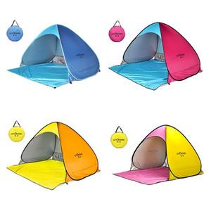 Levoryeou Beach Tent Up Автоматическая открытая палатка Семья Сверхлегкая складная туристическая рыба Кемпинг Анти-УФ полностью солнцезащитный