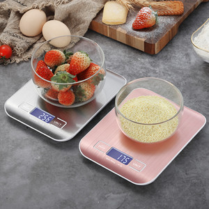 Digital Kitchen Scale, LCD Display 1g 0.1oz Precise Stainless Steel Food Scale for Cooking Baking weighing Scales Electronic