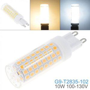 Bulbs Dimmable G9 110V White   Warm 102 LEDs 2835 SMD 10W Corn Bulb Silicone Lamp