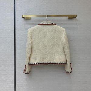Stil Milan Runway Coats Revers Frauen Gleiche Ärmel Täfelte Marke Hals 2021 Graben Langmäntel Designer 1228-6 FPXDP