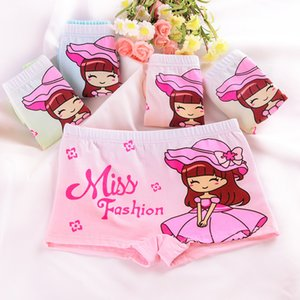 Cartoon 3D girls underwear Cute cartoon children girls underwear Soft children underwear boxer briefs 3-10 year old boxer shorts UPS free
