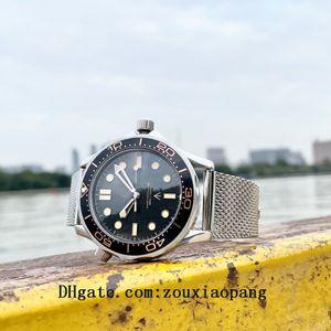 2021 high quality sea no time to die aqua business watches terra man 007 sport wristwatches james bond master boss mens watch D10121