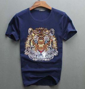 2021 New Arrrive Tshirt Design de luxo de diamantes 100% algodão homens top t-shirt do homem designer 1xjs