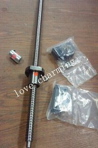 1 Antibacklash Ball Screw RM1605-550mm (21.65 in)+BK BF12 end support +6.35*10mm Coupler