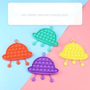 Push Bubble Finger Spielzeug Lächeln Nette Puzzle Blasen Musik Puzzles Dekompression Spielzeug Boards Angst Stress Reliever Kinder Erwachsene Autismus Sonderanforderungen