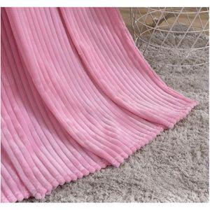 Flannel Blanket Soft Warm Coral Fleece Blanket Winter Sheet Bedspread Sofa Plaid Throw 270gsm Light Thick Mechanical jllbEP soif