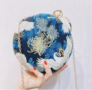 HBP Golden Diamond Clutch Evening Bags Chic Pearl Round Shoulder Bags For Women 2020 New Luxury Handbags Wedding Party Clutch Purse A0014