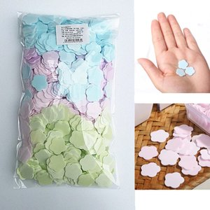 1000pcs Paper Cleaning Soaps Portable Hand Wash Soap Papers Scented Slice Washing Hand Bath Travel Scented Foaming Small Soap