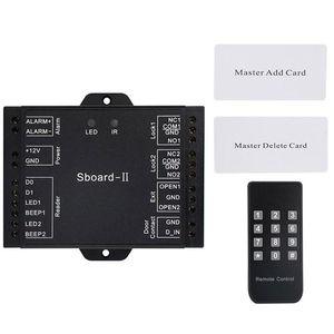 Zugangskontrolle Kits Dual Door Access Control Relay System WIEGAND-Schnittstelle SBOARD-II RFID-Schloss-Tür