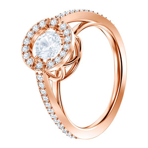 Girl BEAR Romantic New Ring DANCE ROUND For Stunning Rose Gold 19 MINA Mother SPARKLING Jewelry Fashion Gift Luxury 5479934 Ring Lkmnn