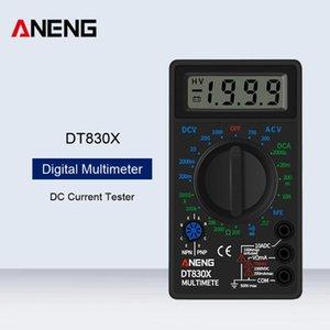 Multimeters ANENG DT830X LCD Display Digital Multimeter Voltmeter Ammeter Ohmmeter DC Current Tester Handheld Fault Buzzer Test Machine