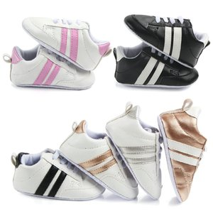 New Patch style PU Leather Baby shoes First Walkers Crib girls boys sneakers Infant Baby moccasins Shoes 0-18 Months