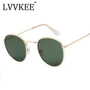 선글라스 2021 브랜드 여성 라운드 남성 여성 금속 프레임 G15 렌즈 남자 그늘 작은 원 안경 UV400